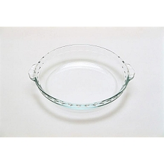 Pyrex fluted cake dish with handles, 1.1 litre