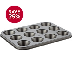 Waitrose Cooking 12 hole mini muffin tin