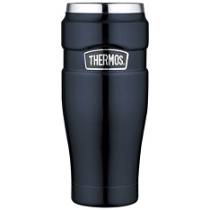 Thermos 470ml blue stainless steel king food tumbler