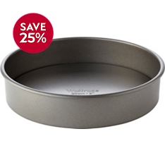 Waitrose Cooking 20cm loose base round sandwich tin