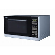 Sharp R372SLM solo microwave silver