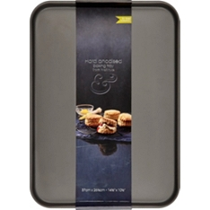 from Waitrose 37x26cm hard anodised baking tray