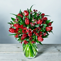 Passionate Tulips Bouquet