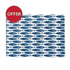 Churchill China Sieni fishie on a dishie placemats, set of 6