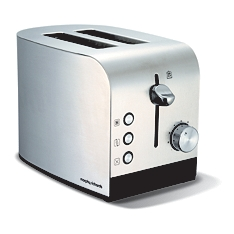 Morphy Richards Accents stainless steel  toaster
