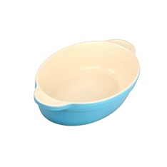 Denby azure medium oval baking dish