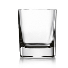 Luigi Bormioli Strauss large whisky glasses, set of 4