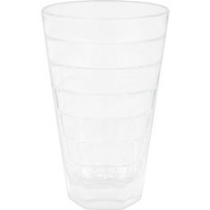 Waitrose Dining wide rib tumbler