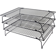 Tala three-tier non-stick cake cooling rack