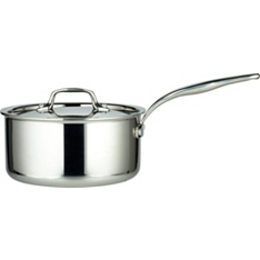 from Waitrose 20cm tri-ply lidded saucepan