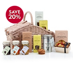 Cartwright & Butler Double Lidded Basket Hamper