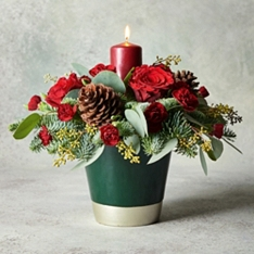 Ultimate Christmas Candle Centrepiece