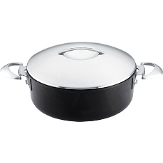 Scanpan Professional low sauce pot with lid, 5 litre