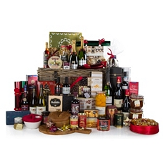 John Lewis Christmas Treasure Chest Hamper