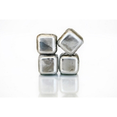 Sparq stainless steel whiskey cubes, set of 4