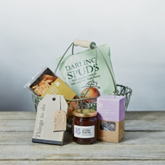 National Trust Cottage Gift Basket