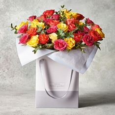Medium Sweetheart Roses Gift Bag