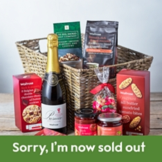 Hamper of Treats with Prosecco from Waitrose