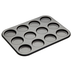 Master Class non-stick twelve cup whoopie pie tin