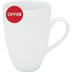 Waitrose Chef's White tall mug