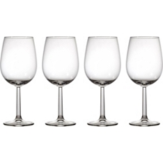 Waitrose cafe box wine glass, set of four