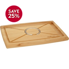 Waitrose Cooking wooden carving board