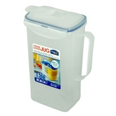 Lock & Lock rectangular fridge jug, 1.5 litre