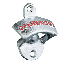 Bar Craft Lock In wall mounted bottle opener