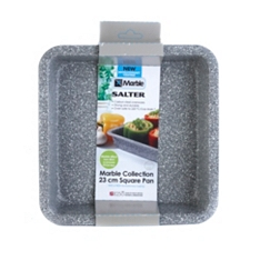 Salter Marble Collection square baking tin