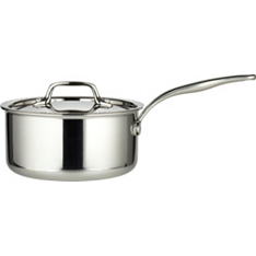 from Waitrose 18cm tri-ply lidded saucepan