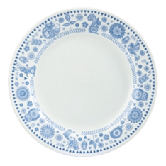 Churchill China Penzance border dinner plate