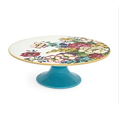 Joules floral cake stand
