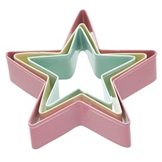 Sweetly Does It star cookie cutter set