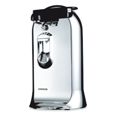 Kenwood silver electric can opener