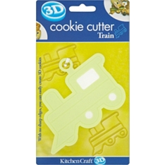 Let's Make soft touch train cookie cutter