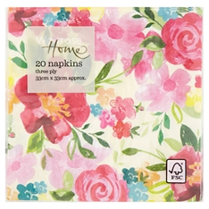 Waitrose Home Bright Floral Napkin 20