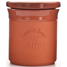 DMD Terracotta coffee canister