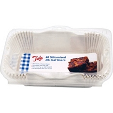 Tala siliconised loaf liners 2 litre, set of 40