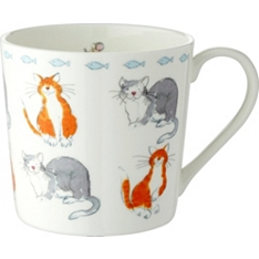 Waitrose Dorset cat mug