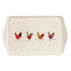 Churchill China Rooster melamine tray