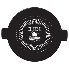 Taylors Eye Witness round cheese platter with handles