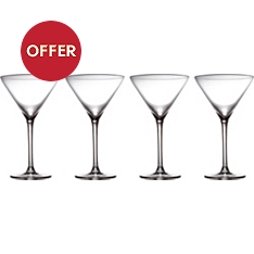 Waitrose Dining chef's martini glasses