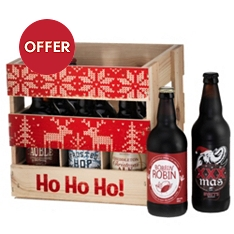 Limited Edition Christmas Beer Crate
