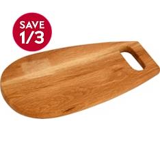 Waitrose Cooking wooden chopping board