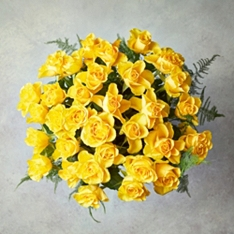 Foundation Yellow Roses Bouquet