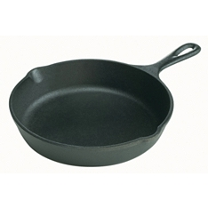 Lodge 16cm cast iron round skillet with handle