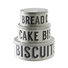 Mason Cash Baker Street cake tins, set of 3