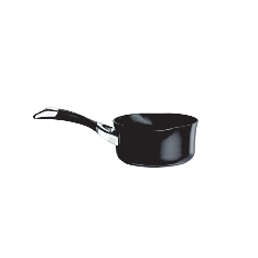 Circulon Symmetry 14cm black milk pan