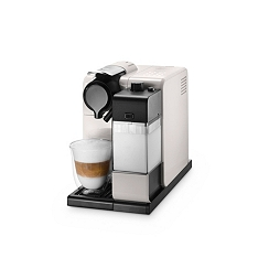 De'Longhi white EN 550 Lattissma Nespresso coffee maker