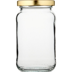 Waitrose Cooking 450ml jam jar